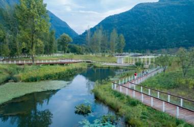 秦岭国家植物园·田峪河湿地公园