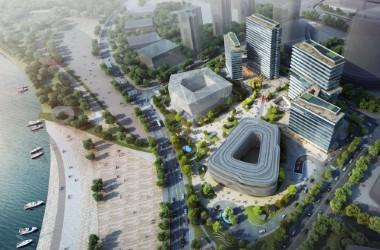 珠海蓝湾智岛总部基地中心二期海绵城市建设方案