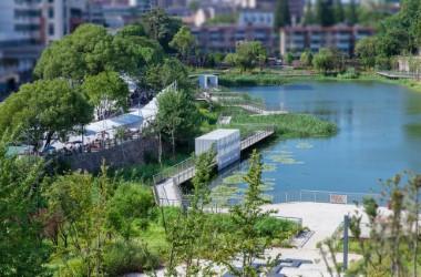 池州护城河遗址公园