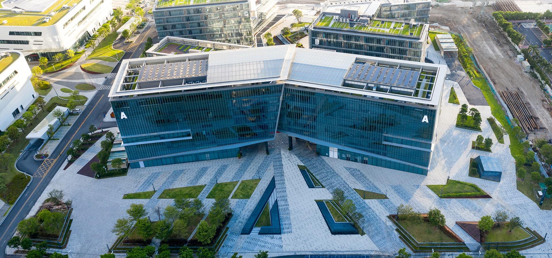 景观海绵融汇之星——<br>金湾航空城产业服务中心